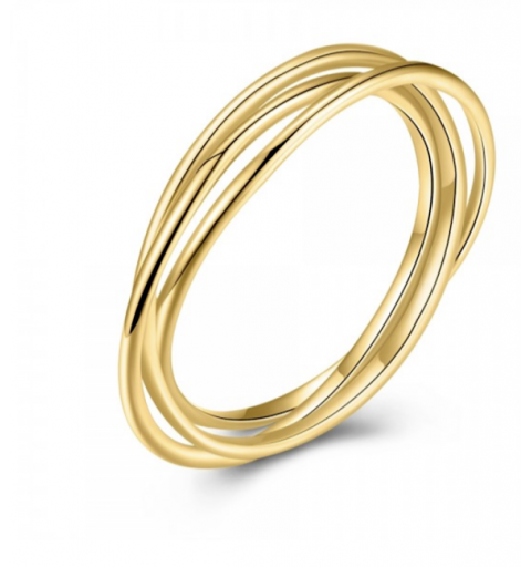 Anillo Gravity Golden