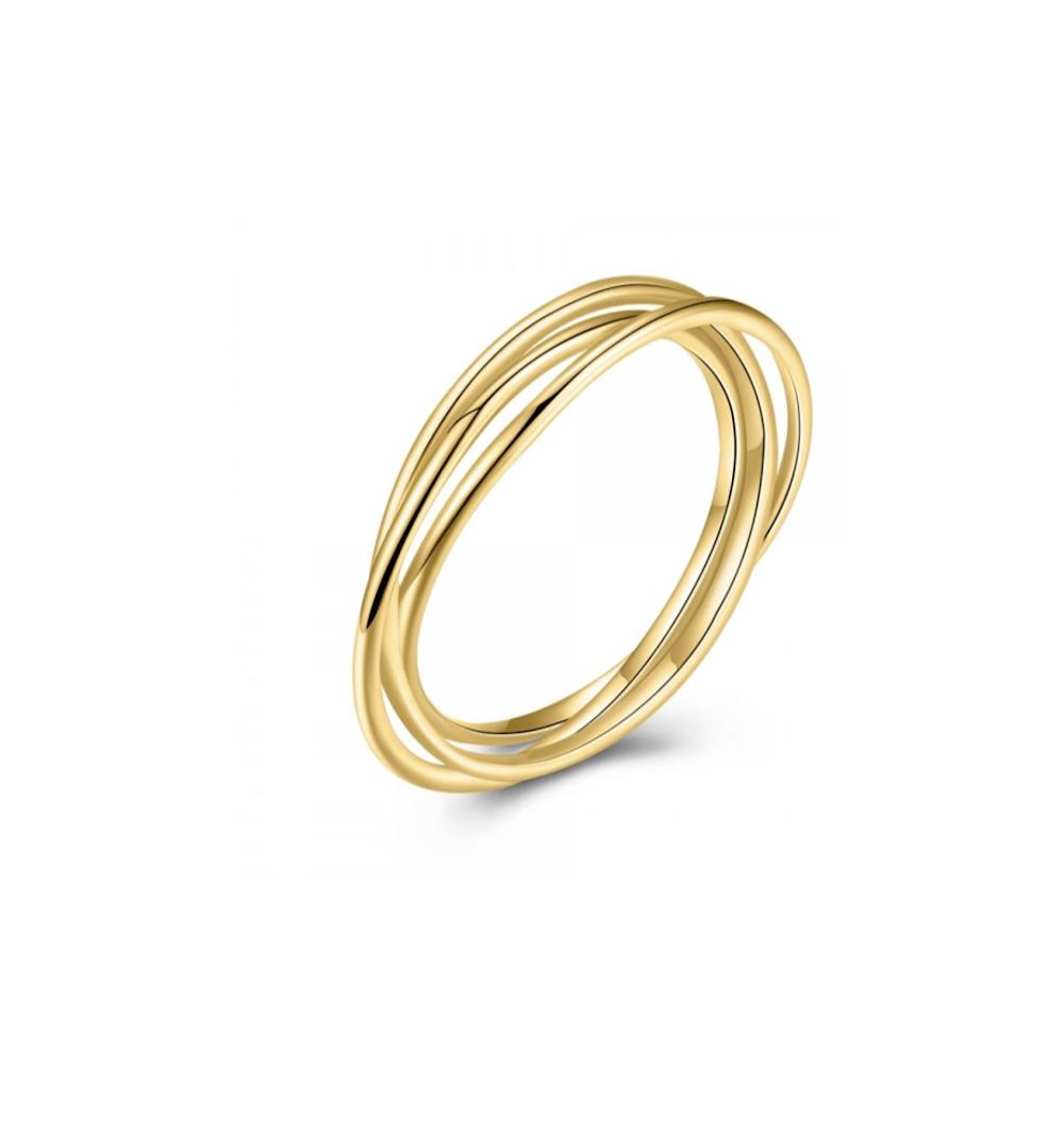 Anillo Gravity Golden  20,00€