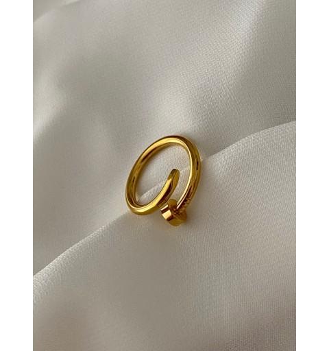 Anillo Nail Golden  20,00€